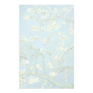 Flor | 1890 da amêndoa de Van Gogh | Papelaria