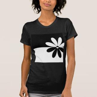 Flor abstrata não que diferente tshirt
