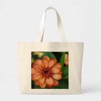 Flor alaranjada lindo no Central Park Bolsa Para Compras