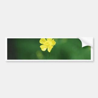 flor amarela adesivos