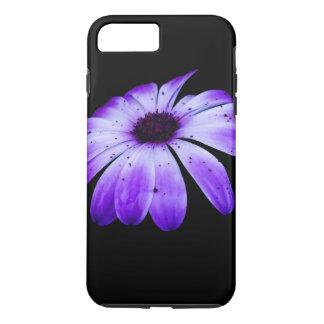 Flor azul capa iPhone 8 plus/7 plus