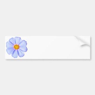 Flor azul - modelo personalizado das margaridas do adesivo para carro