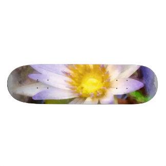Flor bonita shape de skate 19,7cm
