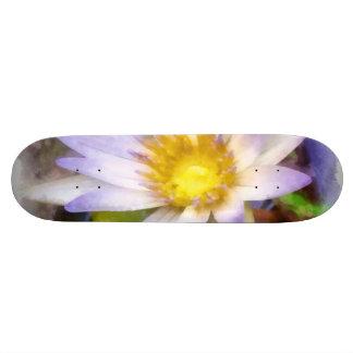 Flor bonita shape de skate 20cm