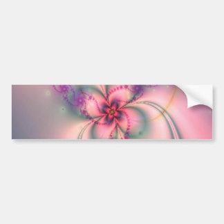 Flor bonito do Fractal Adesivo Para Carro