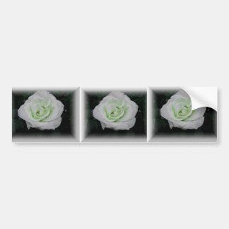 Flor branca adesivo