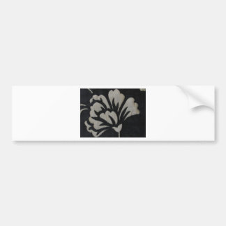 Flor branca adesivos