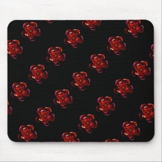 Flor carmesim mouse pad