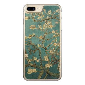 Flor da amêndoa capa para iPhone 7 plus carved