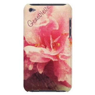 flor da camélia com capa do ipod touch da música