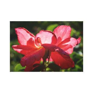 Flor da fantasia impressão em tela