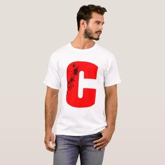 Flor da letra C Camiseta