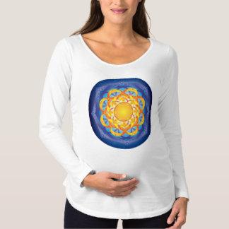 Flor da mandala da vida t-shirts