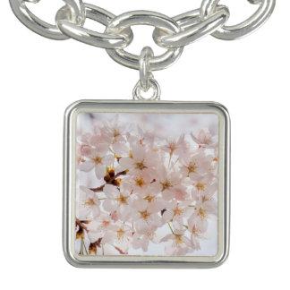 Flor de cerejeira de Sakura Charm Bracelets