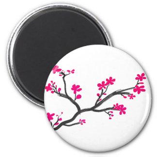 flor de cerejeira imãs