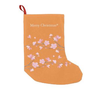 Flor de cerejeira - transparente - Feliz Natal Meia De Natal Pequena