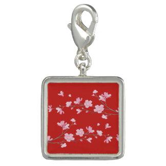 Flor de cerejeira - vermelho photo charm