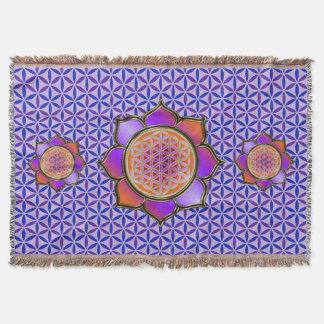 Flor de DES Lebens da vida/Blume - violeta de Manta