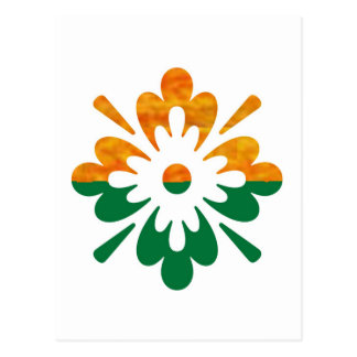Flor de HappyDance Aprecie a parte de n a alegria Cartoes Postais