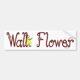 Flor de parede adesivo para carro
