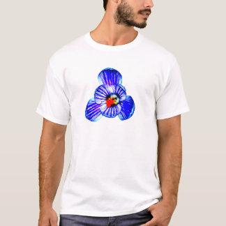 Flor do açafrão t-shirt