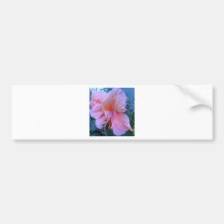 Flor do hibiscus adesivo para carro