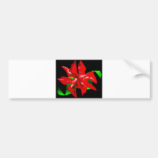 Flor do Natal customizável Adesivos