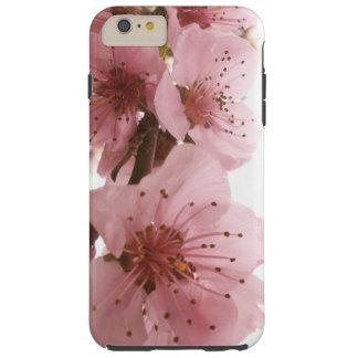 Flor do pêssego capas iPhone 6 plus tough