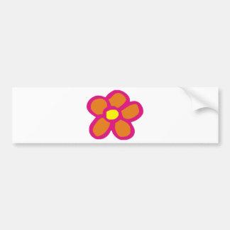 Flor do pop adesivo para carro