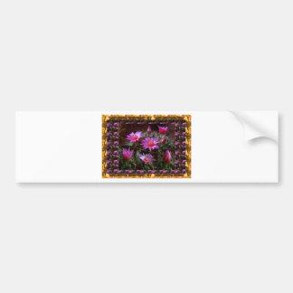 Flor fresca dos cactos do CACTO: Mostra floral exó Adesivo
