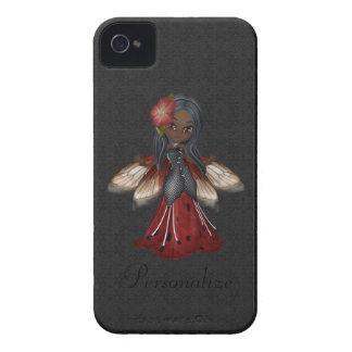 Flor gótico bonito Blackberry feericamente corajos Capas iPhone 4 Case-Mate