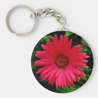Flor Keyring-Cor-de-rosa Chaveiro