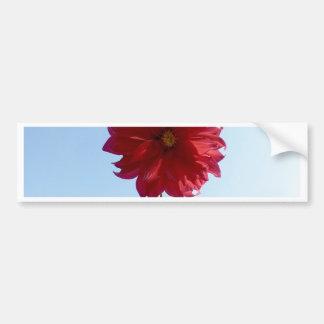 Flor no céu adesivo