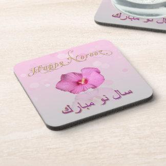 Flor persa nobre do ano novo - porta copos da