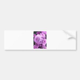 Flor roxa adesivo para carro