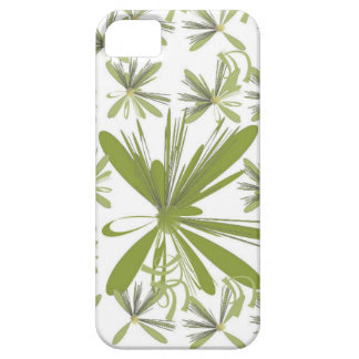Flor verde capa barely there para iPhone 5