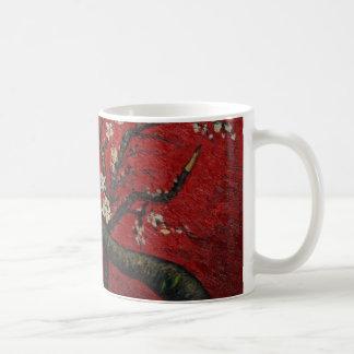 Flor Vincent van Gogh da amêndoa Caneca De Café
