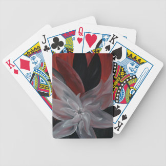 Floral abstrato baralhos para poker