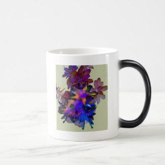 Floral abstrato canecas