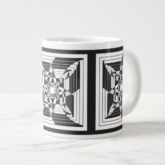 floral abstrato jumbo mug