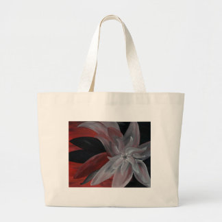 Floral abstrato sacola tote jumbo