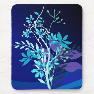 Floral abstrato mousepad
