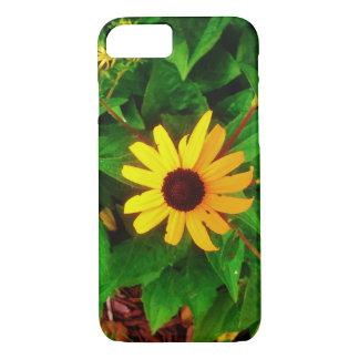 Floral amarelo capa iPhone 7