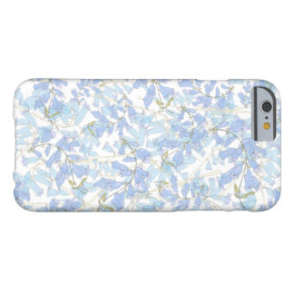 floral azul capa barely there para iPhone 6