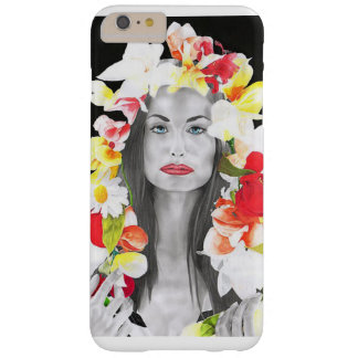 Floral Capa Barely There Para iPhone 6 Plus