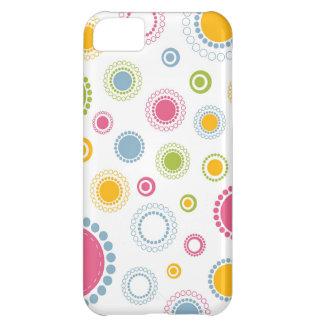 Floral Capa Para iPhone 5C