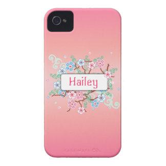 Floral feminino personalizado capinhas iPhone 4