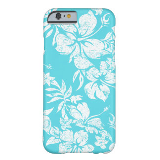 Floral havaiano de Pareau do hibiscus Capa iPhone 6 Barely There
