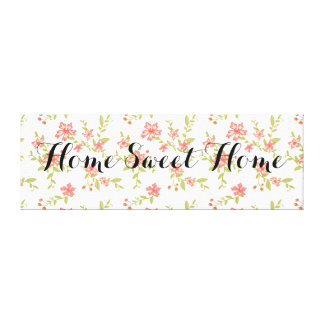 Floral Home doce Home