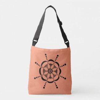 Floral modelado bolsas carteiro